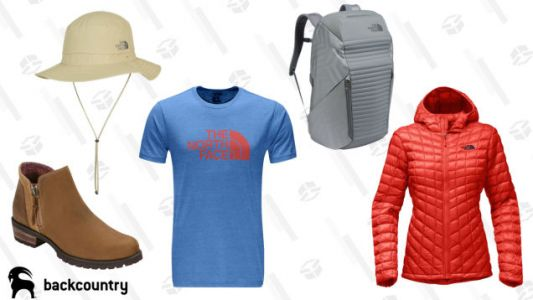 Backcountry Has a Ton of The North Face Things on Sale