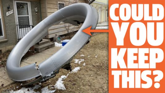 If Airplane Parts Land On Your Lawn, Can You Keep Them? We Find Out