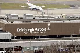 Edinburgh Airport - Poetry in motion