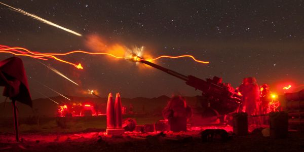 Check out the M777 - the 'sniper rifle' howitzer that US troops use to hit targets from miles away