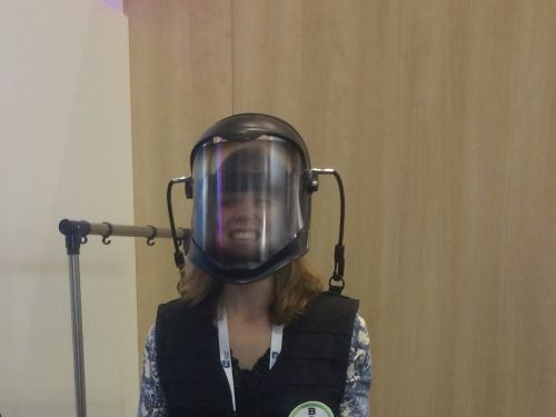 I tried out an 'aging suit' that mimics what it feels like to be 80-years-old - here's what it was like