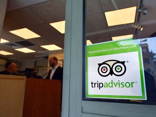 A man has been jailed in Italy after allegedly writing fake reviews on TripAdvisor