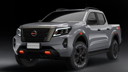 Teaser Appears To Confirm Leaked Photos Of Next-Gen Nissan Frontier With Beefy Navara Styling
