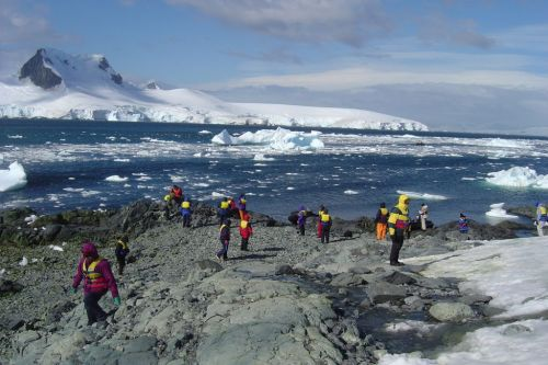 Antarctica tourism is on the rise