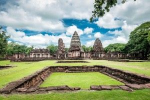 Tourists continue to visit Phimai Historical Park
