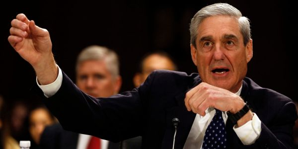 Mueller dropped a hint that he's nowhere near finished charging people in the Russia probe