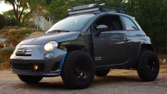 How One Man Turned His Fiat 500 Abarth Into an Offroader That Nearly Killed Him