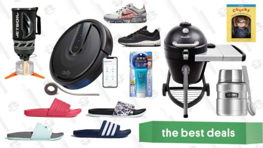 Friday's Best Deals: Backcountry, Eufy Robovac, Charbroil, Jetboil, and More