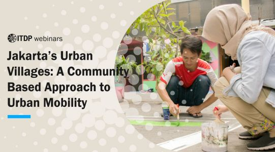 Jakarta's Urban Villages: A Community Based Approach to Urban Mobility