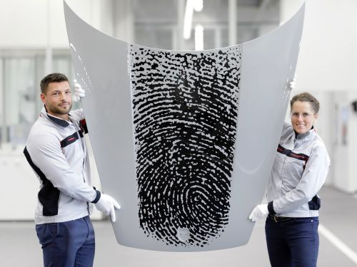 Porsche will put its customers' giant fingerprints on the hoods of their brand-new 911 sports cars for $8,000 - here's how it works
