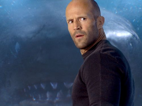 'The Meg' star Jason Statham says the final movie is 'radically different' than the first script he saw: 'Where's the f--- blood?'