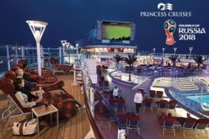 Princess Cruises introduces game screening to increase more guests