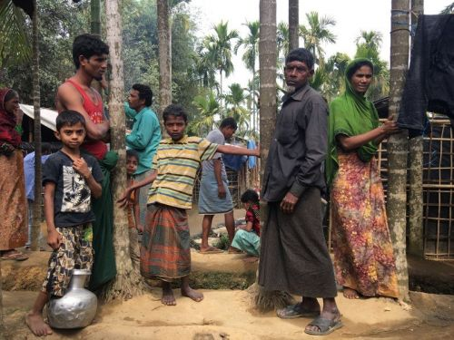 I visited the Rohingya camps in Myanmar - here's what I saw