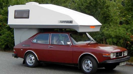 The Toppola Saab Camper Was A Brilliant Idea That Would Still Be Great Today