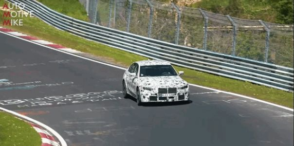 Here's The 2020 BMW M3 Bombing Around The Nürburgring