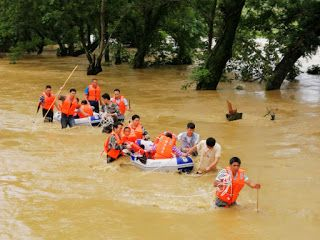 Floods affect nearly 20 million people in China