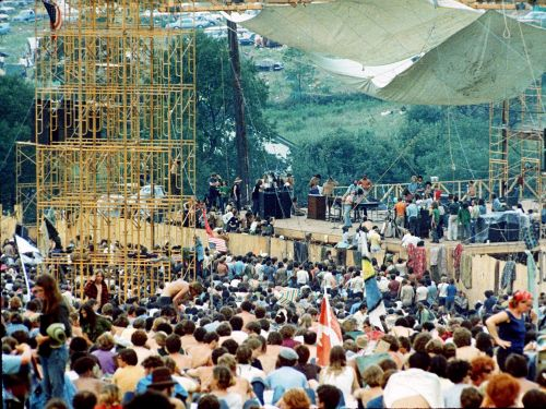 49 years ago today, 400,000 people descended on a farm for the greatest music festival of all time