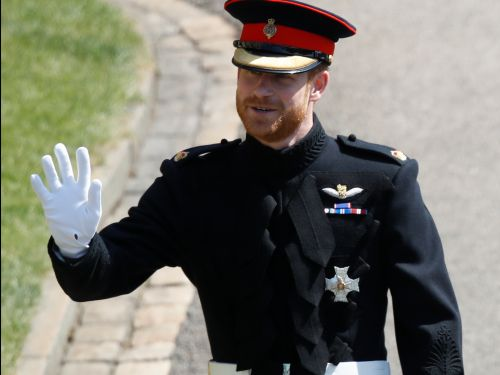 Prince Harry kept his beard for the royal wedding - and people are swooning