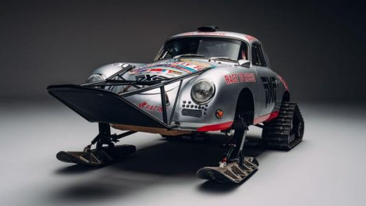 The Polar Porsche Is Ready To Race On The Ice In Antarctica