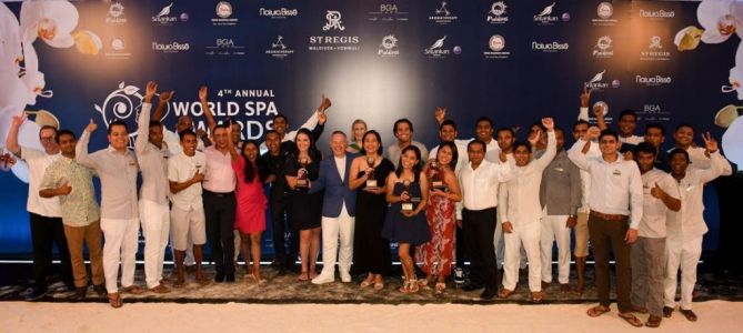 2018 World Spa Awards winners revealed in the Maldives