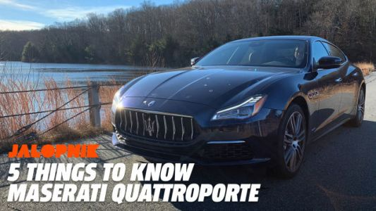 Five Things to Know About The Maserati Quattroporte