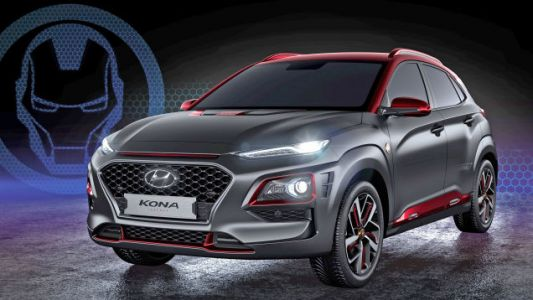 The Hyundai Kona Iron Man Edition Is What Tony Stark Would Drive if He Was Broke and Boring
