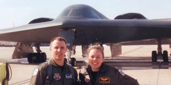 The first husband-wife duo to fly the B-2 stealth bomber is retiring - here's their incredible story