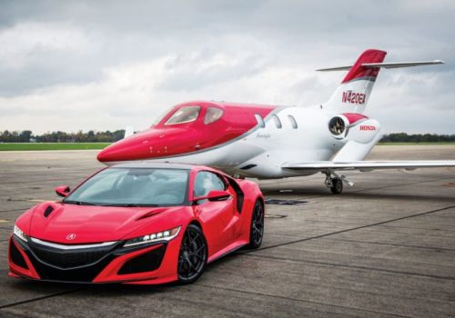 Acura and HondaJet Team Up for High-Octane Experience