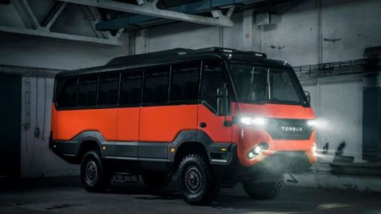 The Torsus Praetorian Is An Off-Road Bus For The End Times