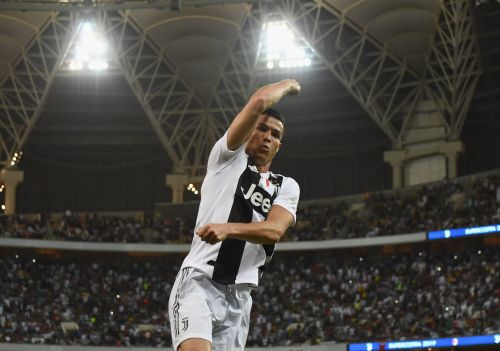Cristiano Ronaldo scored an outrageous header after a perfectly timed run, and now has his first Italian trophy