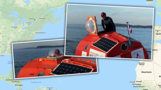 A 71-Year-Old French Dude Is Going to Try to Cross the Atlantic in a Barrel