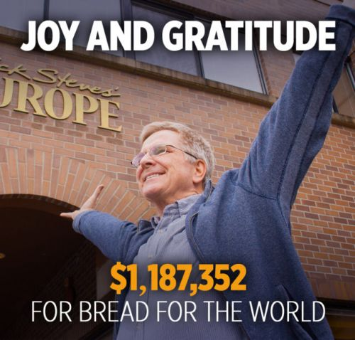 Joy and Gratitude: $1,187,352 for Bread for the World