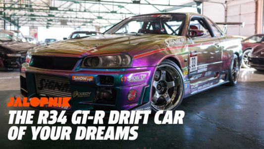 This R34 Skyline GT-R Is the Holy Grail of JDM Tuner Culture
