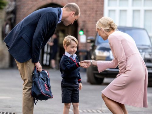 Prince George's first day of school is approaching - and there's a special reason why it could be different from last year