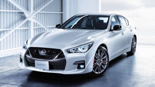 The New Nissan Skyline Is a Japan-Only Q50 with the GT-R's Face, Advanced Semi-Autonomous Tech