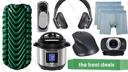Wednesday's Best Deals: Logitech Sale, Instant Pot Ultra Mini, Boxer Briefs, and More