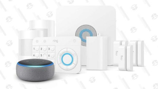 Prime Members Can Save $60 On Ring's Home Security System, Plus a Free Echo Dot