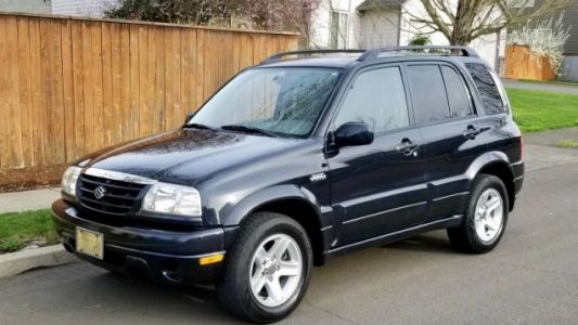 At $1,950, Could This 2002 Suzuki Grand Vitara V6 Be a Grand Bargain?