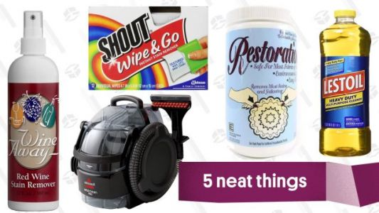 Five Stain Removers You Need To Buy Before The Holidays