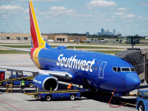 Workers at the Denver International Airport are caring for a girl's pet fish after Southwest Airlines declined to let her fly with it