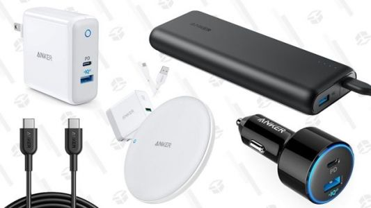 It's an Anker Charging Party In Today's Amazon Gold Box, Including USB-C Gear