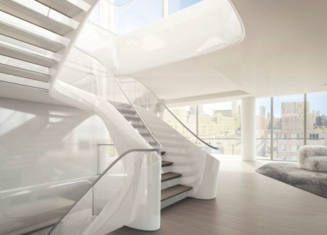 Penthouse Residence, 520 West 28th, New York City