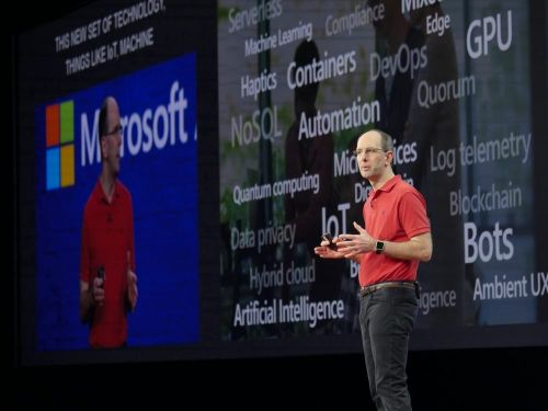 This is why one of Microsoft's top execs has worn a red polo shirt to almost every single important event for over a decade