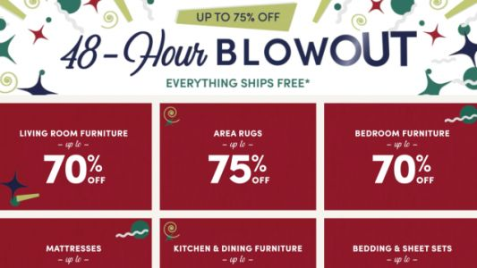 Deck Your Halls With New Decor For Up to 75% Off During Wayfair's 48-Hour Blowout Sale