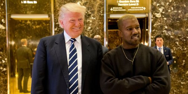 Trump says Kanye West has 'performed a great service to the black community' as Twitter bromance escalates