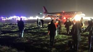 Eight passengers at the Stansted airport suffered injuries during plane evacuation