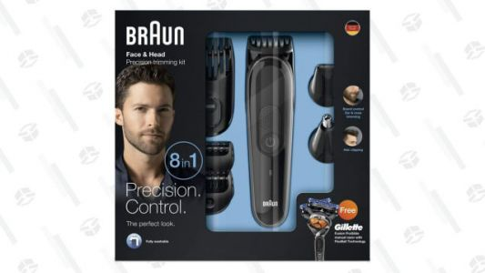 Clip the Coupon and Shave $10 Off This Braun Beard Trimmer