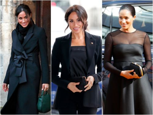 Meghan Markle's outfits nail 3 key rules for dressing in all black without being boring