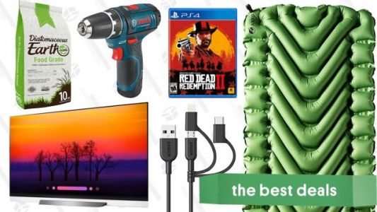 Tuesday's Best Deals: Klymit Pads, Red Dead Bundle, OLED TVs, and More