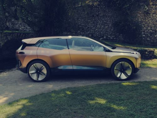 BMW just unveiled a new electric SUV concept to take on Tesla's Model X - take a closer look